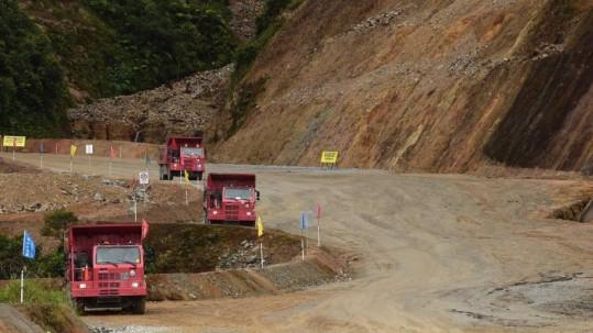 El primer gran cargamento de cobre saldrá de la mina Mirador. Foto: Expreso