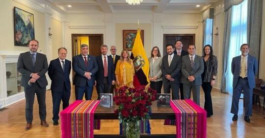 Ecuador sigue dando pasos para firmar acuerdo comercial con EE.UU./ Foto: cortesía Ministerio de Producción