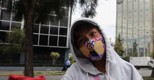 Un estudio revela peores condiciones de la niñez ecuatoriana tras la pandemia / Foto: EFE