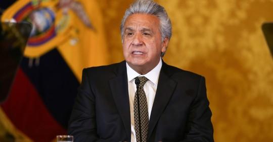Lenín Moreno deja el poder con 9,3 % de aprobación / Foto: EFE