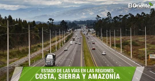 Informe Vial Ecuador Actualizado – 17 de septiembre de 2020 / Foto: El Oriente
