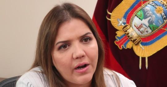 Corte Nacional rechaza apelación de exvicepresidenta Vicuña / foto EFE