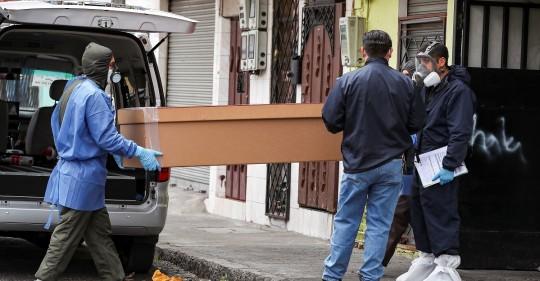 Ecuador reporta 129.892 positivos y 11.171 fallecidos por la COVID-19 / Foto: EFE
