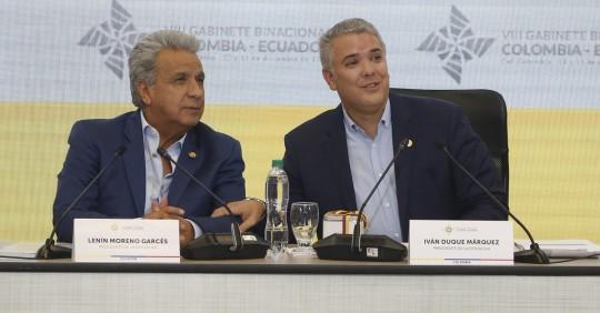 Presidentes de Ecuador y Colombia tratarán agenda bilateral el jueves / Foto: EFE