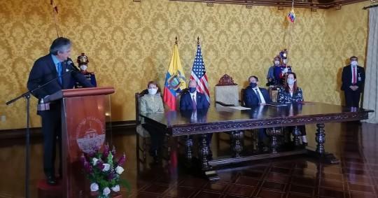 EE.UU. eleva en 5,8 millones su ayuda a Ecuador para combatir el narcotráfico / Foto: EFE