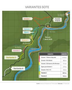 Petroecuador construye dos variantes adicionales del SOTE debido a la erosión del río Coca / Foto cortesía de Petroecuador