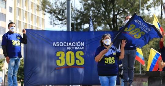 Jornada de reflexión en décimo aniversario del polémico 30-S en Ecuador / Foto: EFE