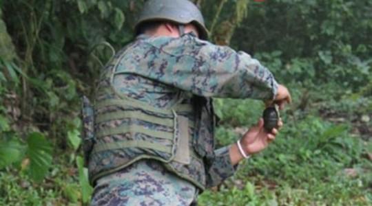 Imagen referencial. Siete militares resultaron heridos en Ecuador, durante un ejercicio de entrenamiento con granadas. Foto: Portal Ejército ecuatoriano