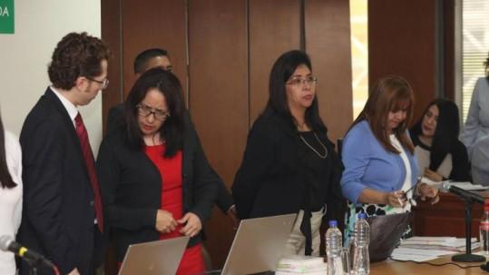 El pasado 13 de marzo, en la Corte Nacional de Justicia se desarrolló una audiencia sobre el caso Singue. Foto: Expreso