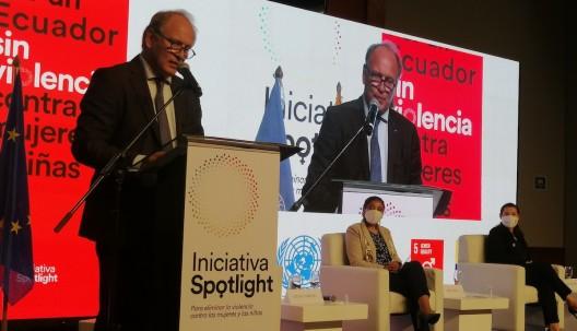 UE y ONU lanzan iniciativa contra la violencia de género en Ecuador / Foto EFE