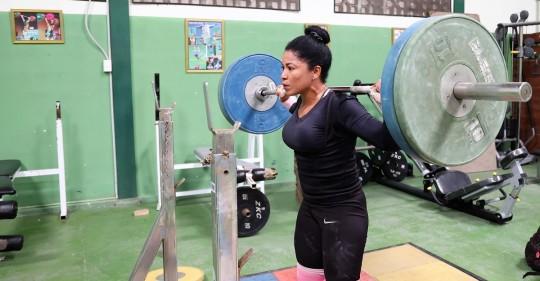 Levantamiento de pesas, una de las esperanzas de Ecuador para Tokio 2021 / Foto: EFE