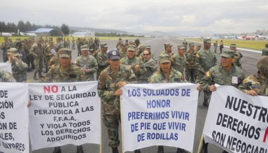 Fueron procesados 71 militares por la paralización de la Base Aérea el día de la revuelta policial