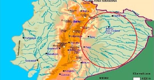 Geología de las cuencas hídricas del oriente / Foto: IIGE