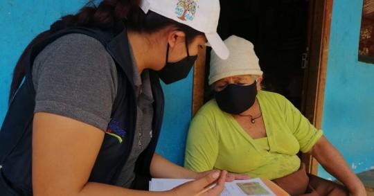 1.548 adultos mayores vuelven a recibir atención en Zamora / Foto: cortesía MIES