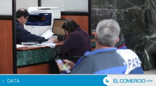 Imagen referencial. La ayuda es entregada a personas que por razones involuntarias pierden el empleo. Foto: Archivo EL COMERCIO