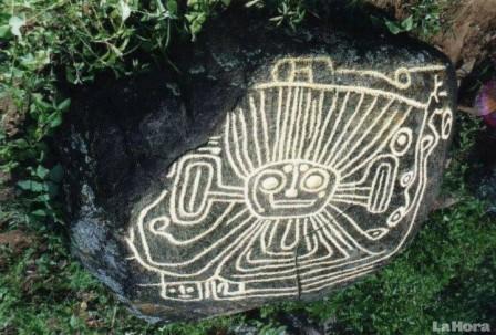'El sol Palta' es la figura mas interesante que se ha encontrado en Loja. Foto: La Hora