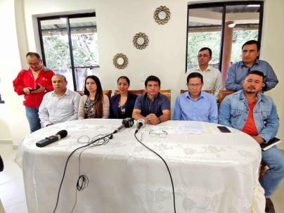 SITUACIÓN. Cléver Jiménez dice que hay una negativa del prefecto saliente de entregar información. Foto: La Hora