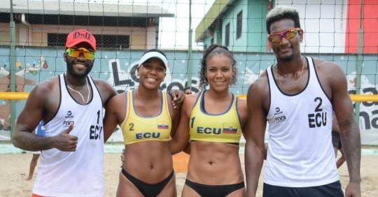 Ecuador, a torneos en Chile para la clasificación al Mundial de Voleibol Playa / Foto: EFE