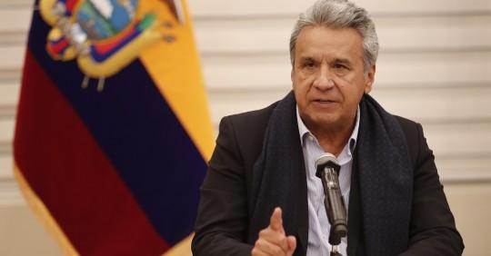 Moreno: Si el pueblo ecuatoriano quiere involucionar es su decisión soberana / Foto: EFE