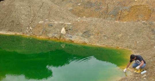 IIGE invita a taller sobre pasivos ambientales mineros / Cortesía del Instituto de Investigación Geológico y Energético (IIGE)