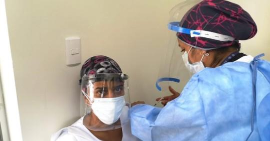 El Gobierno abre página web sobre la vacunación anticovid tras críticas /  foto cortesía Ministerio de Salud