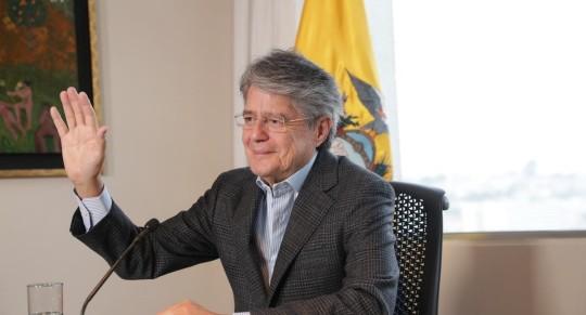 Guillermo Lasso viajará a Colombia para asumir la presidencia de la CAN / Foto: cortesía Presidencia