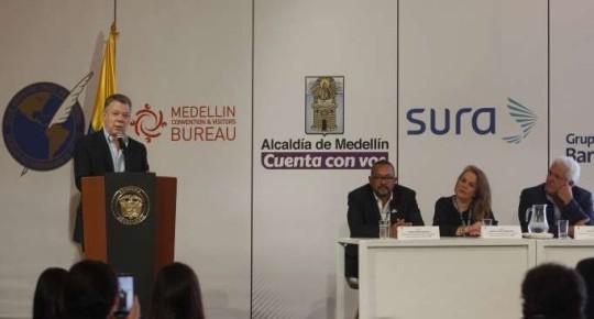Mandatario. Juan Manuel Santos asegura que todo el esfuerzo de las Fuerzas Armadas de su país están empeñadas en la captura de 'Guacho'. Foto: La Hora