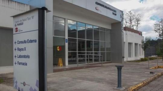 El Centro de Salud tipo B, ubicado en el Pangui, atiende a 100 pacientes al día. Foto: El Comercio