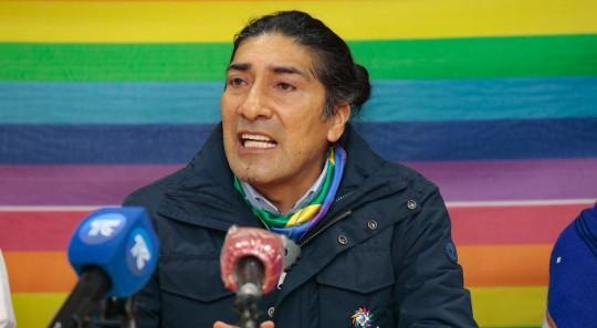 Yaku Pérez ganó en 13 provincias / Foto EFE