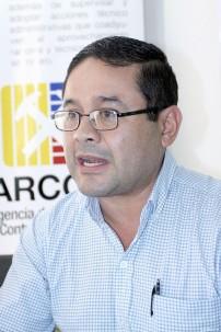 César Córdova, director técnico de Seguimiento y Control en Territorio en Zamora Chinchipe, de Arcom.
