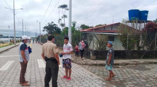 Según las autoridades de Aguarico, este cantón no ha recibido los fondos necesarios para enfrentar la emergencia sanitaria ante el covid-19. Foto: Cortesía