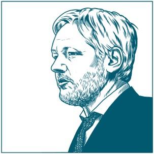 """Assange es acusado de """"injerencia"""" en la política ecuatoriana y española / Foto: Shutterstock"""