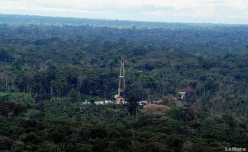 Petróleo. Sacha es el campo más productivo que tiene el país. Foto: La Hora