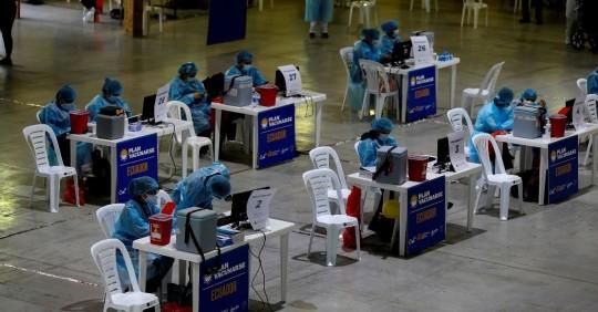 Ecuador suma 885 casos de covid-19/ Foto: EFE