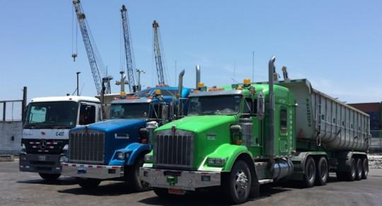 Conducción eficiente en el transporte terrestre de carga pesada en Ecuador / Foto IIEG