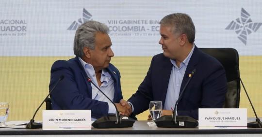 Moreno y Duque tratarán sobre seguridad e integración en cita virtual / Foto: EFE