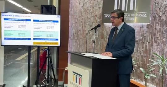 Ecuador propone plan de pago de millonaria suma a Perenco/ Foto: cortesía Procuraduría