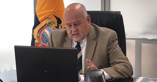 """Mauricio Pozo: 2020, """"resume la peor crisis en la historia económica de Ecuador"""" / Foto: Cortesía Twitter ministro de Economía"""