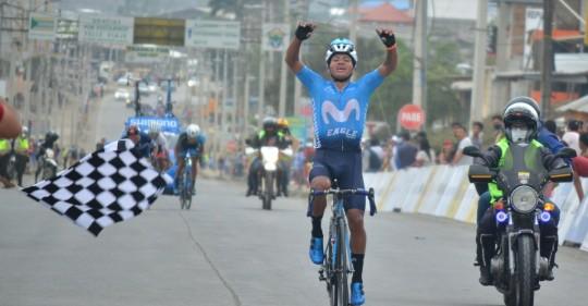 Cristian Toro gana la primera etapa de la Vuelta a Ecuador / Foto: EFE