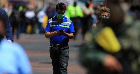 Ecuador suma 274.673 contagios de coronavirus y 15.536 decesos acumulados / Foto EFE