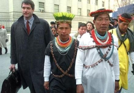 Comunidades amazónicas declararon 'persona no grata' a Steven Donziger - Foto: Juicio Crudo