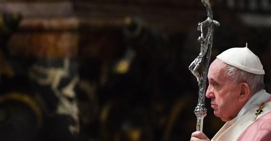 El papa elige Ecuador para celebrar el 53 Congreso Eucarístico en 2024 / Foto: EFE