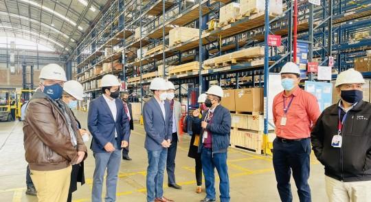 Ecuador motiva a empresarios peruanos a invertir en el país / Foto: cortesía del ministro Julio José Prado