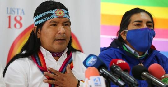 Pachakutik expulsa a Jaime Vargas por apoyo al correísmo / Foto: Cortesía de El Universo