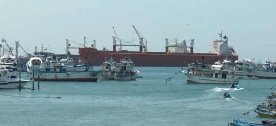 """Los pescadores zarparon del puerto de Manta el pasado 30 de abril, en el barco atunero """"Charo"""". Captura de pantalla"""