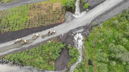 Foto: El Comercio/ Las vías que comunican a Napo con Pichincha y Sucumbíos están habilitadas.