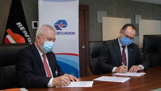 Petroecuador espera que el acuerdo con Repsol refuerce las alianzas público-privadas/ foto cortesía Petroecuador