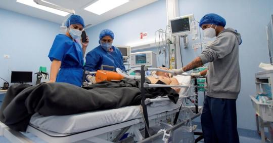 Ecuador registra 1.831 casos de covid-19 en un día y acumula 307.429  / Foto: EFE