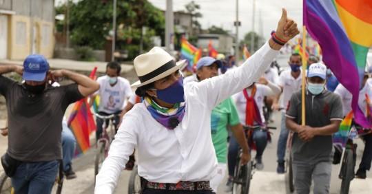 Yaku Pérez: El candidato indígena de la 'izquierda ecológica' / Foto: EFE