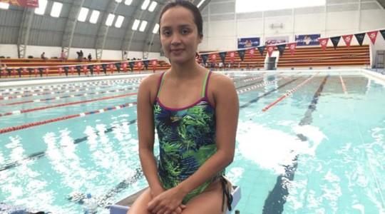 La nadadora Samantha Arévalo sigue en la élite mundial de natación. Foto: El Comercio